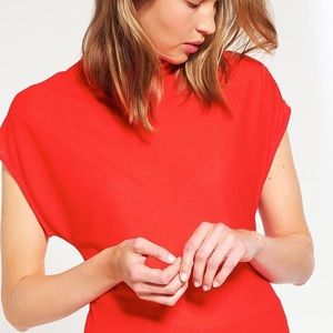 Topshop boutique red top